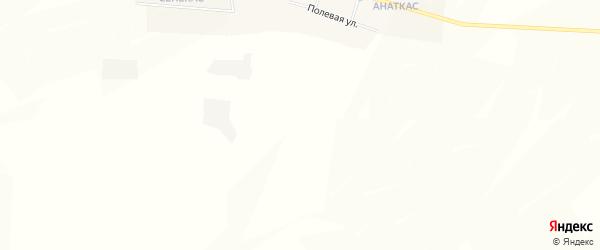 Карта деревни Полевые Козыльяры в Чувашии с улицами и номерами домов