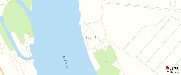 ГСК Заря на карте Астрахани с номерами домов