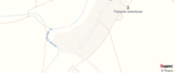 Речная улица на карте деревни Чегедуево с номерами домов