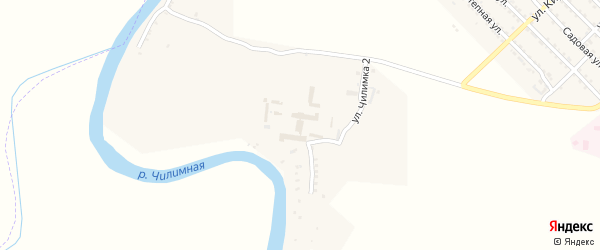 Улица Чилимка 2 на карте Волго-Каспийского поселка с номерами домов