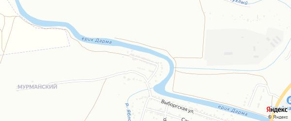 Окольная улица на карте Астрахани с номерами домов
