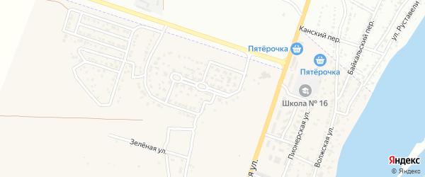 Молодежная улица на карте поселка Ильинки с номерами домов