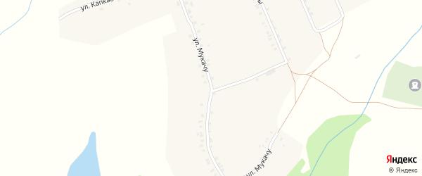 Улица Мукачу на карте деревни Кугеево с номерами домов