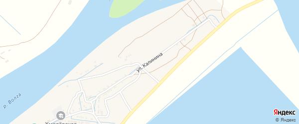 Улица Калинина на карте села Хмелевки с номерами домов