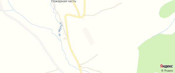 Поселок Центральная усадьба на карте Хасавюрта с номерами домов