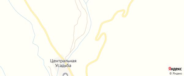 Родниковая улица на карте села Сюгюта с номерами домов