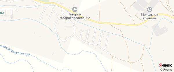 Улица С.Абдуллаева на карте села Каякента с номерами домов
