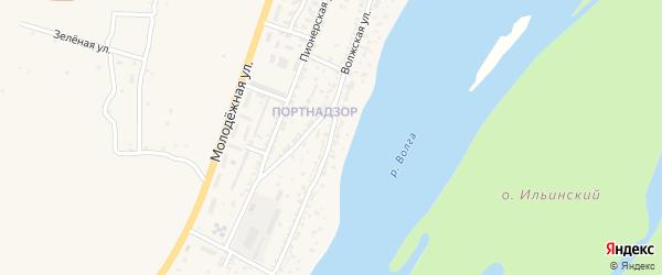 Волжская улица на карте поселка Ильинки с номерами домов