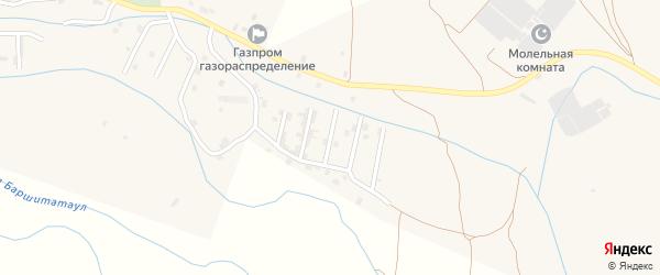 Улица М.Сулейманова на карте села Каякента с номерами домов
