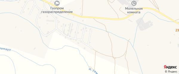 Улица Дадашева на карте села Каякента с номерами домов