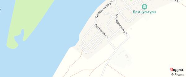 Первомайская улица на карте поселка Ассадулаево с номерами домов