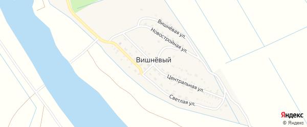 Вишневая улица на карте Вишневого поселка с номерами домов