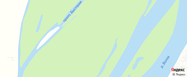 Большой Долгий бугор на карте Камызяка с номерами домов