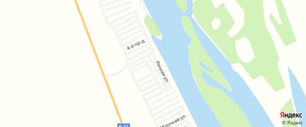 СТ Рыбак Каспия на карте Наримановского района с номерами домов