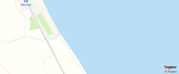 Карта поселка Санатория Каякента в Дагестане с улицами и номерами домов