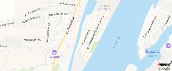 СТ сдт Судоремонтник на карте улицы Водников с номерами домов