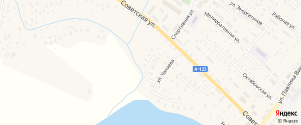 Улица Пушкина на карте Ильинско-Подомского села с номерами домов