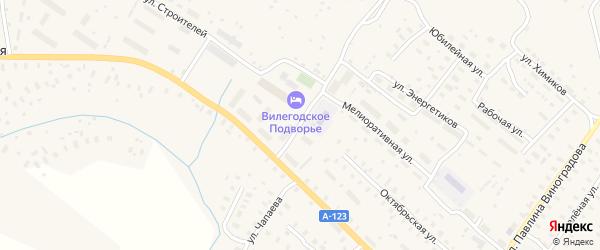Спортивная улица на карте Ильинско-Подомского села с номерами домов
