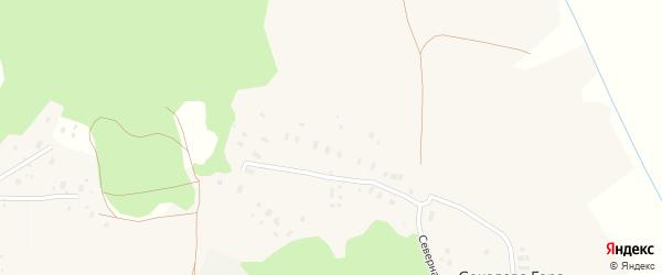 Солнечная улица на карте деревни Соколовой Гора с номерами домов