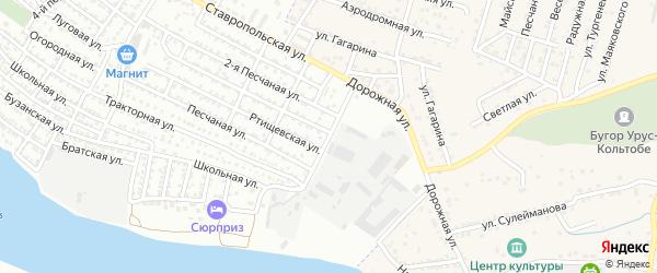 Портовая улица на карте Астрахани с номерами домов