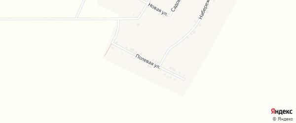 Полевая улица на карте деревни Новое Байгулово с номерами домов