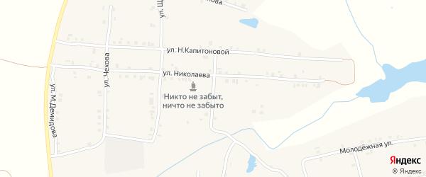 Шоссейная улица на карте села Мусирмы с номерами домов