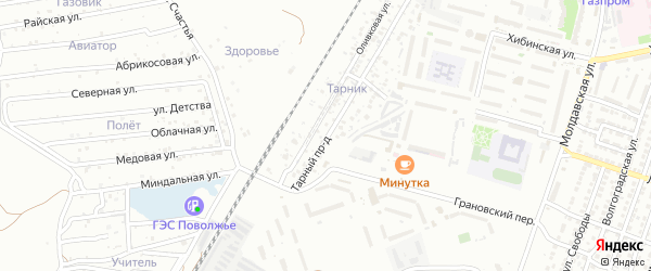 Оливковая улица на карте Астрахани с номерами домов