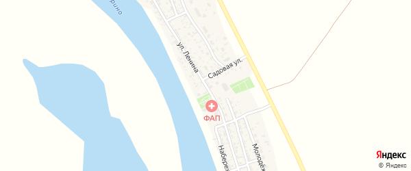 Улица Ленина на карте села Иванчуга с номерами домов