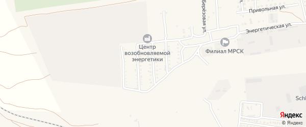 Курская улица на карте села Солянки с номерами домов