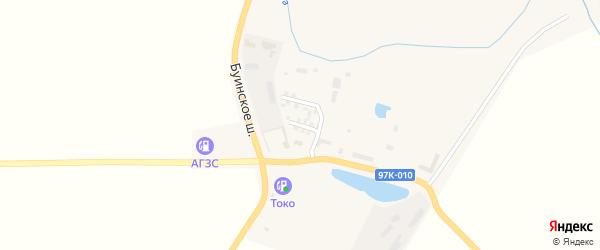 Заводская улица на карте села Яльчиков с номерами домов