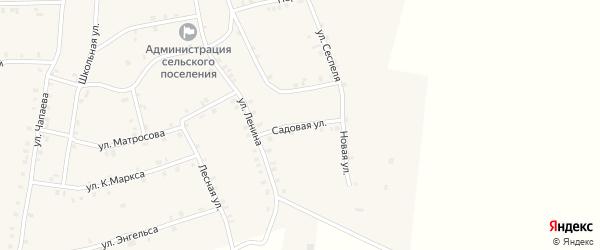 Садовая улица на карте села Мусирмы с номерами домов