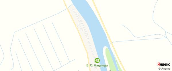 Карта Нижненикольского поселка в Астраханской области с улицами и номерами домов