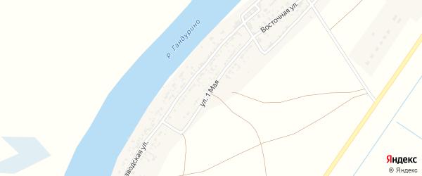 1 Мая улица на карте села Образцово-Травино с номерами домов