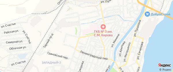 СТ СДТ Учитель на карте Хибинской улицы с номерами домов