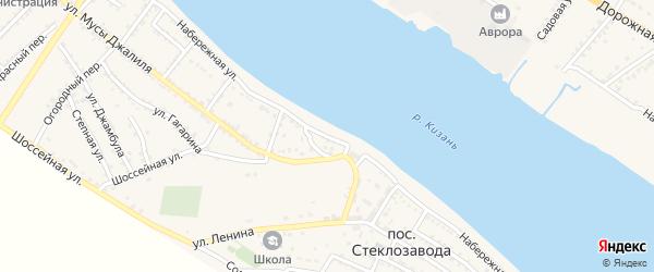 Улица Им Большакова на карте села Татарской Башмаковки с номерами домов