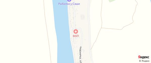Улица Ульяновых на карте села Гандурино с номерами домов