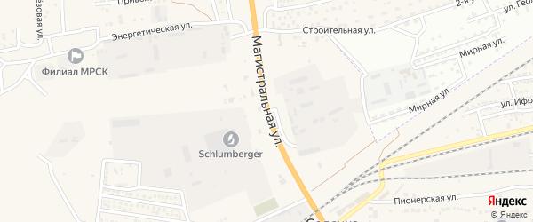 Дорожная улица на карте села Солянки с номерами домов