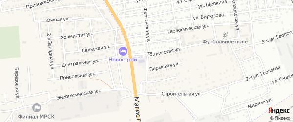 Пермская улица на карте села Солянки с номерами домов