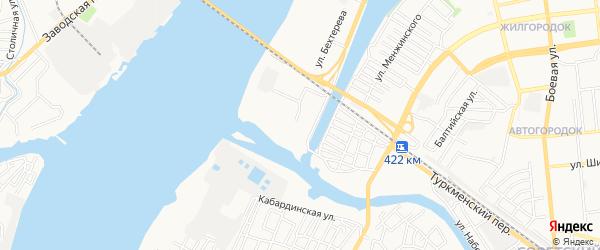 ГСК N28 на карте улицы Бехтерева с номерами домов