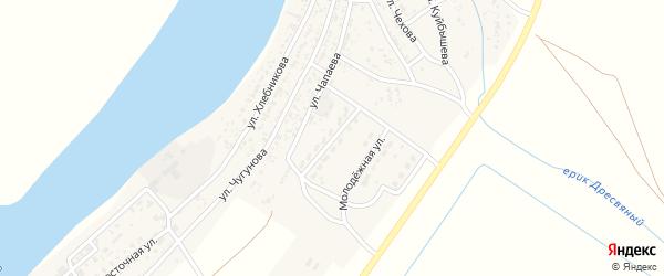 Улица Братьев Камаевых на карте села Образцово-Травино с номерами домов
