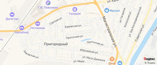 Габдулы Тукая улица на карте Пригородного поселка с номерами домов