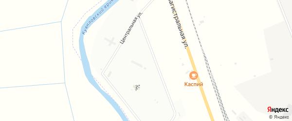 Улица Буровиков на карте Аксарайского поселка с номерами домов