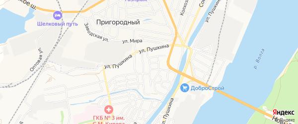 СТ СДТ Садовод-любитель на карте Знаменской улицы с номерами домов