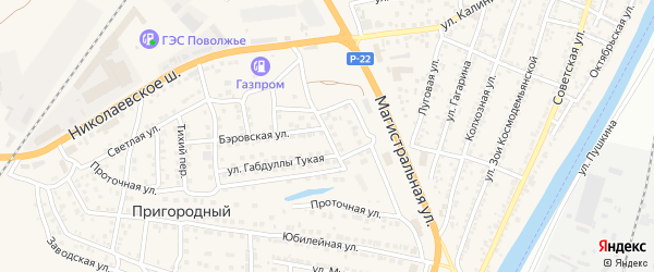 Садовая улица на карте села Солянки с номерами домов
