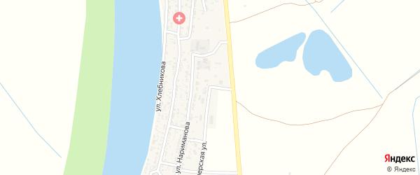 Пионерская улица на карте села Образцово-Травино с номерами домов