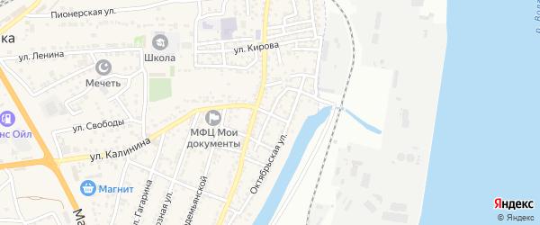 Солянская улица на карте села Солянки с номерами домов