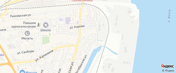 Еречный переулок на карте села Солянки с номерами домов