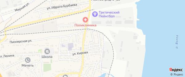 Восточная улица на карте села Солянки с номерами домов