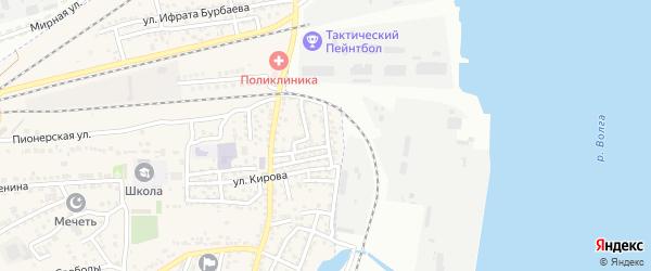 Набережная улица на карте села Солянки с номерами домов