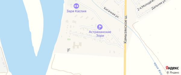 Романтическая улица на карте села Яксатово с номерами домов